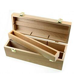 Frisk Somerset Artists Elm Wood Storage Box Medium Top | London Graphic Centre