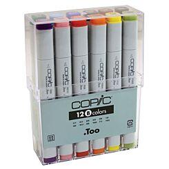 Copic Marker Pen Set of 12 Basic Colours   London Graphics Centre