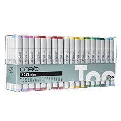 Copic Marker 72 Colour Set 2   London Graphic Centre