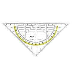 Linex Pro 1616G Geometric Set Square Angle | London Graphic Centre