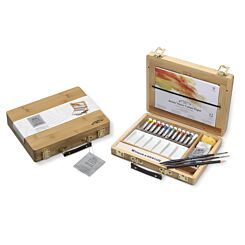 Winsor & Newton Water Colour Tubes Bamboo Box Set | London Graphic Centre