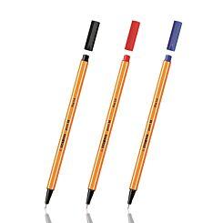 Stabilo Point 88 Fineliner Pen Blue