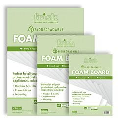 Frisk Bio-degradable White Foamboard 5mm Pack Group | London Graphic Centre