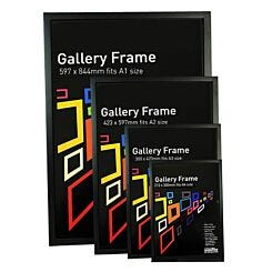 Seawhite Gallery Wooden Picture Frame Black Group | London Graphic Centre