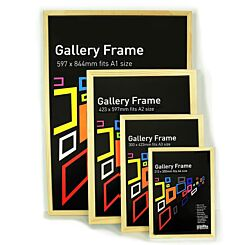 Seawhite Gallery Wooden Picture Frame Natural Group | London Graphic Centre