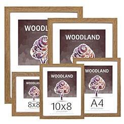 Ultimat Woodland Glass & Wood Picture Frame - Oak