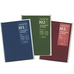 Midori Travellers Notebook Refill Passport Size Front | London Graphic Centre