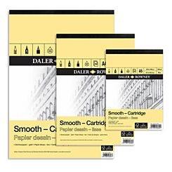 Daler-Rowney Smooth Cartridge Paper Pad