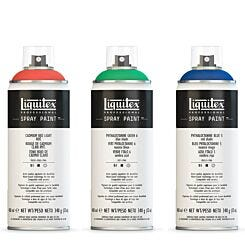 Liquitex Professional Spray Paint 400ml Black | London Graphic Centre