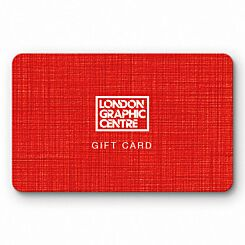 London Graphic Centre In-store Gift Card Voucher Front