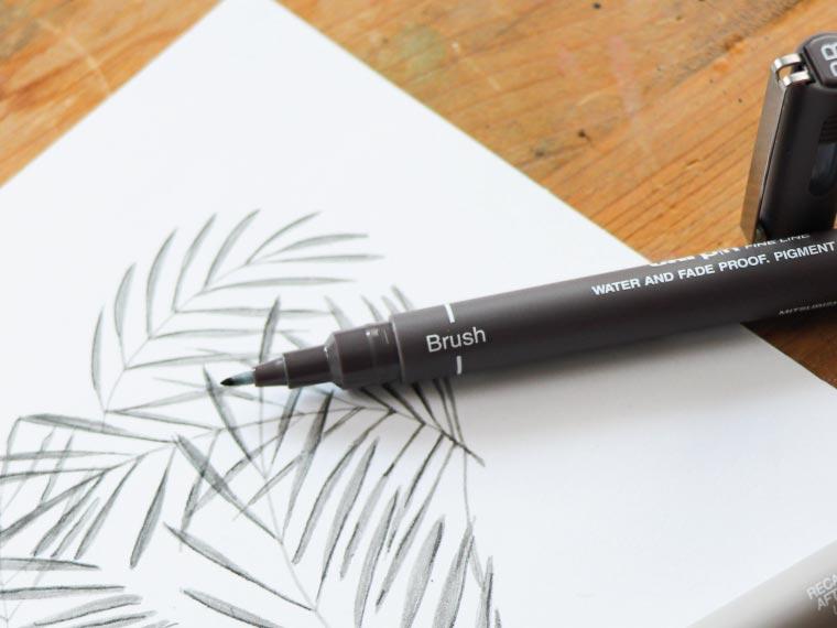 drawing pens brush pens category