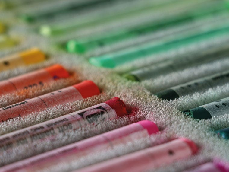 drawing pastels