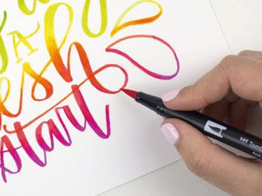 drawing marker pens brush markers