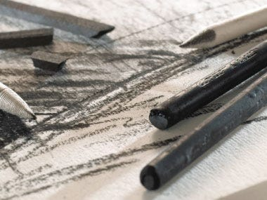 drawing pastels charcoal graphite
