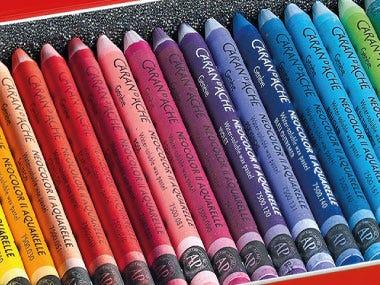 drawing pastels wax pastels