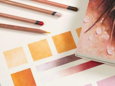 drawing pencils coloured pencils