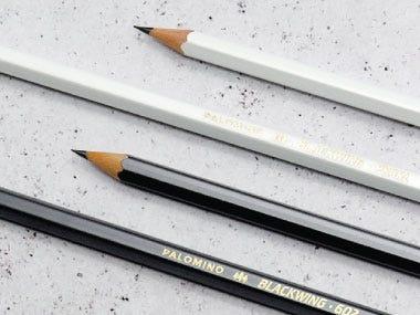 drawing pencils graphite