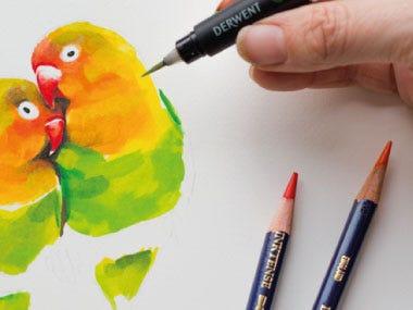 drawing pencils watercolour pencils