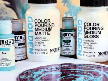 Acrylic Painting Mediums